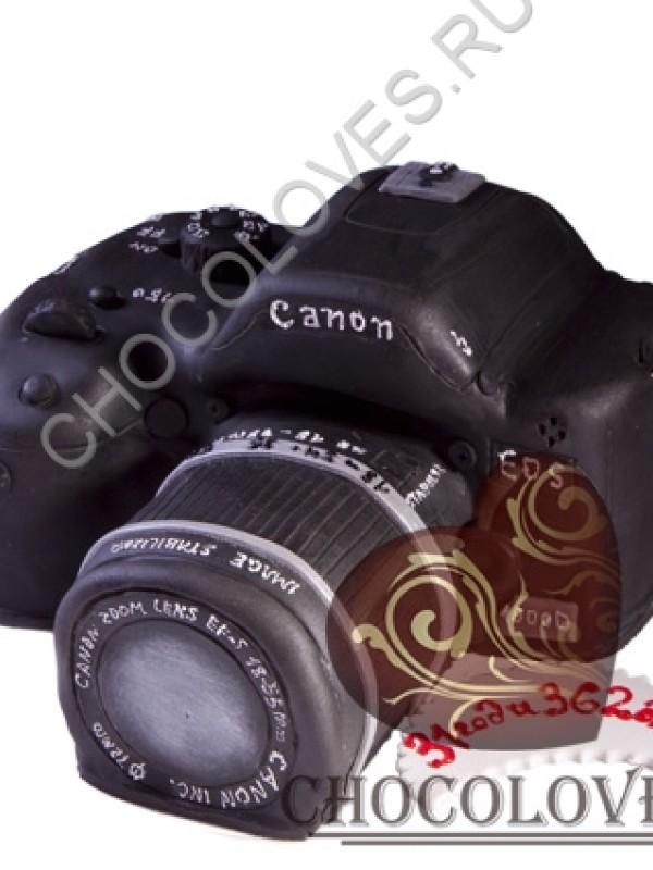 """Авторский торт """"Фотоаппарат Canon"""""""