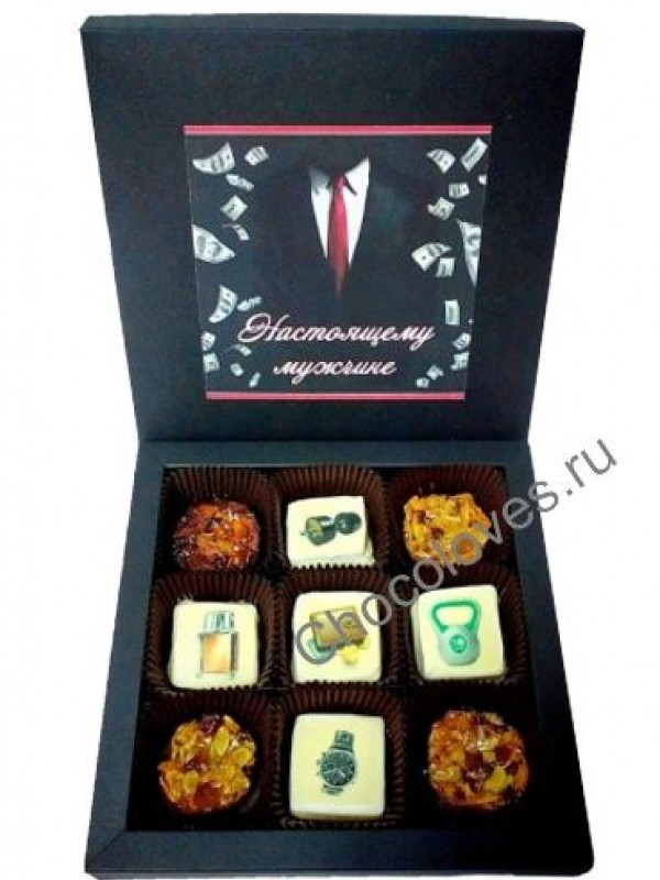 Набор конфет для мужчин
