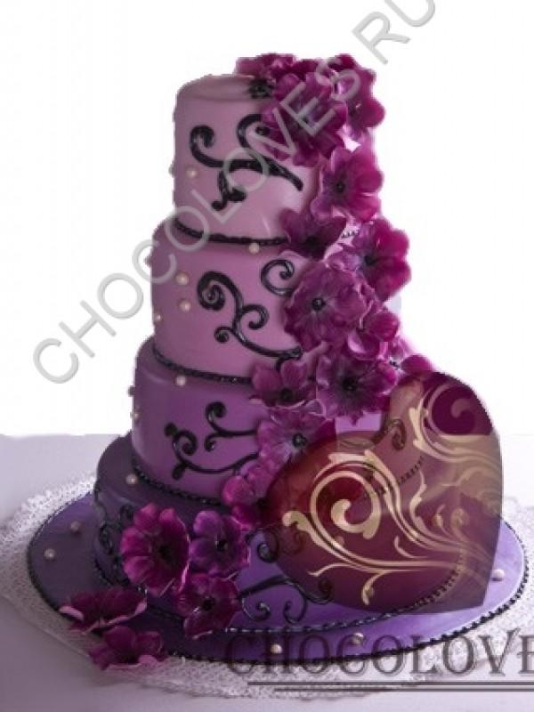"""Свадебный торт """"Наслаждение"""""""