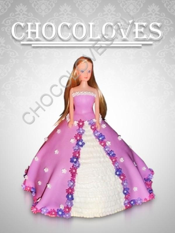 "Детский торт ""Кукла"""