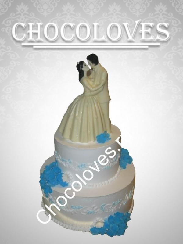 """Свадебный торт """"Влюбленные"""""""