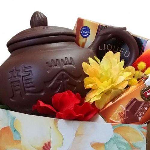 Подарочный набор с чайником