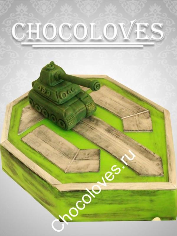 "Торт для мужчин ""World of Tanks"""