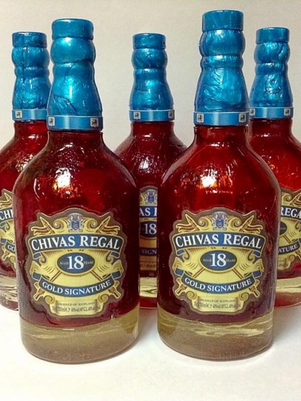 Бутылка Чивас Ригал
