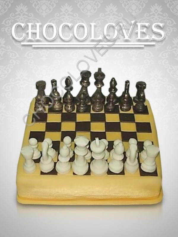 """Торт для мужчин """"Шахматы"""""""