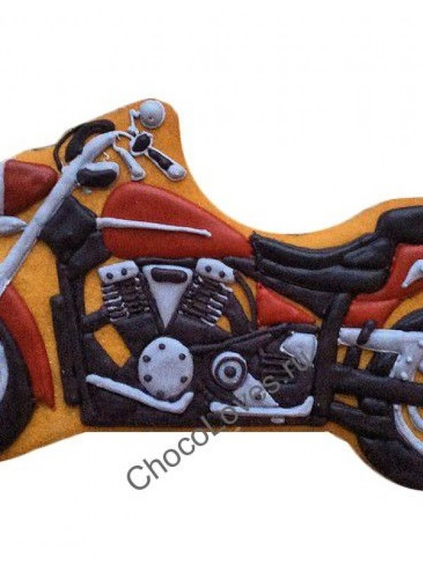 Имбирный пряник мотоцикл