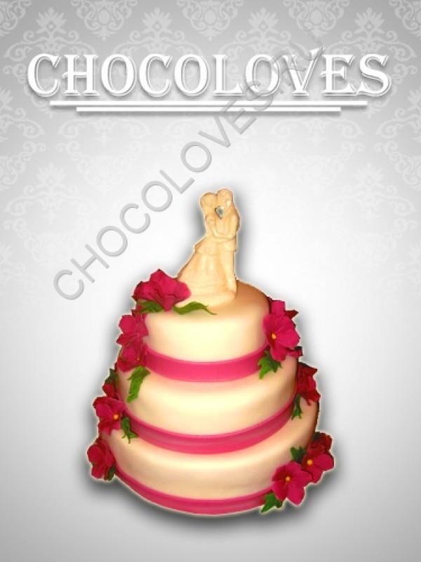 """Свадебный торт """"Верность"""""""