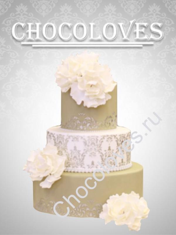 """Свадебный торт """"Элегия"""""""