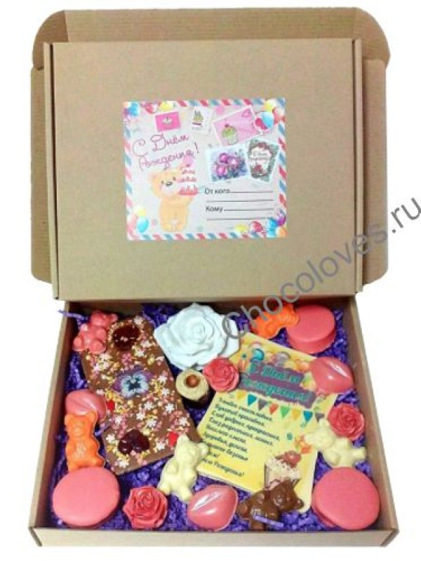 Набор конфет на День Рождения