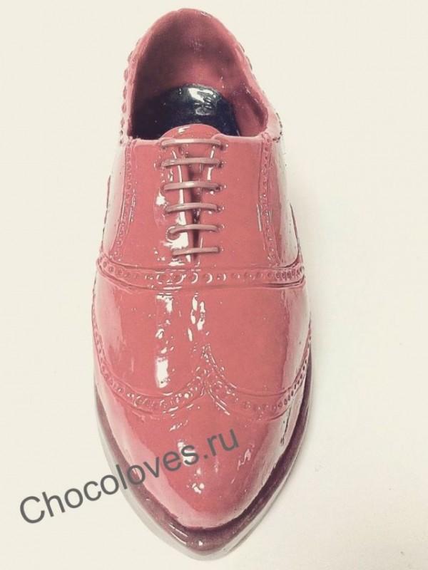 Туфля из карамели