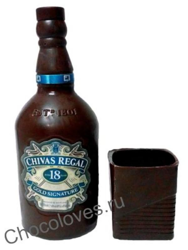 Шоколадная бутылка Сhivas regal