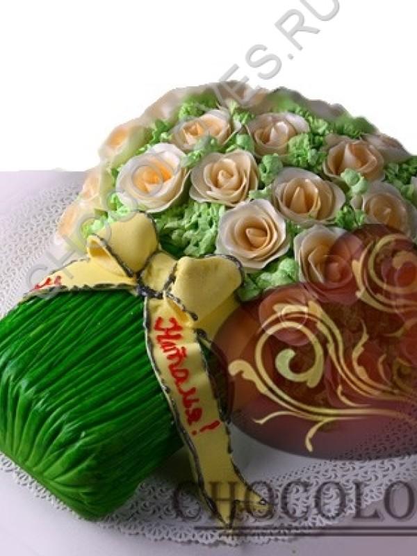 """Авторский торт """"Букет для любимой"""""""