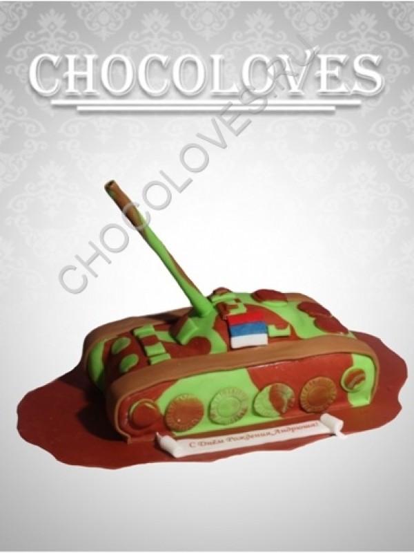 "Торт для мужчин ""Русский танк"""