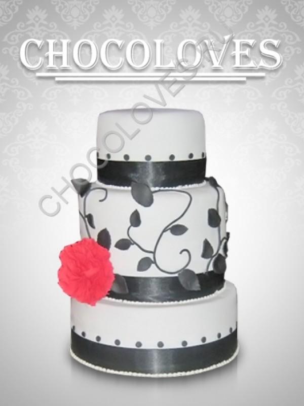 """Свадебный торт """"Лаконичность"""""""