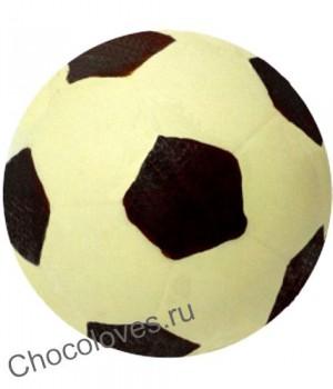 Шоколадный футбольный мяч