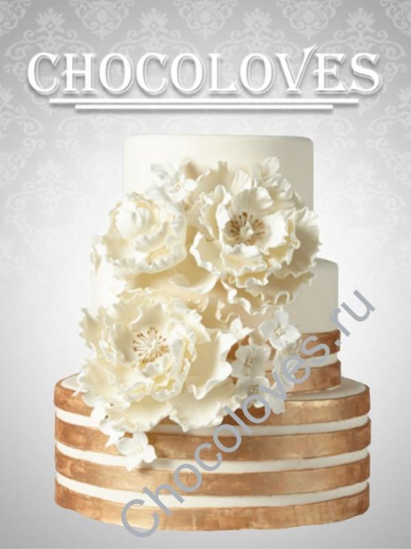 """Шикарный свадебный торт """"К Элизе"""""""