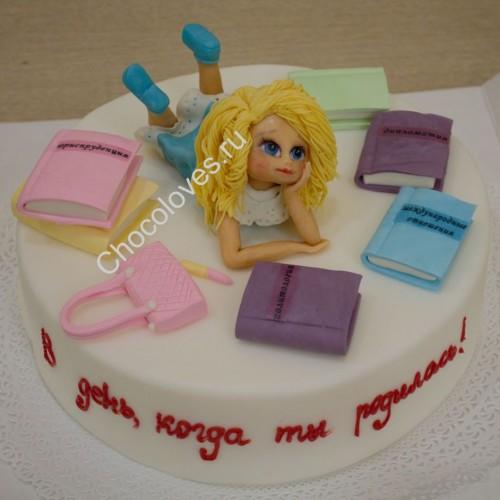 Детский торт для девочек
