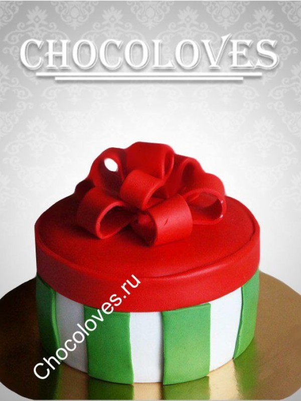 """Детский торт """"Подарок"""""""