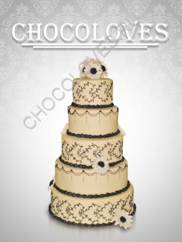 """Свадебный торт """"Вавилон"""""""
