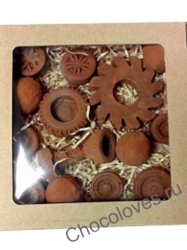 Шоколадные гайки и болты
