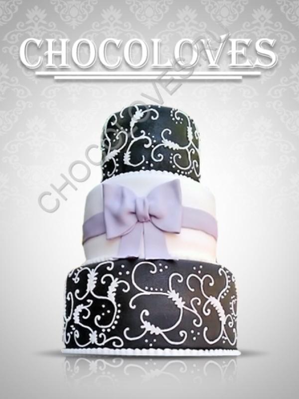 """Свадебный торт """"Совершенство"""""""