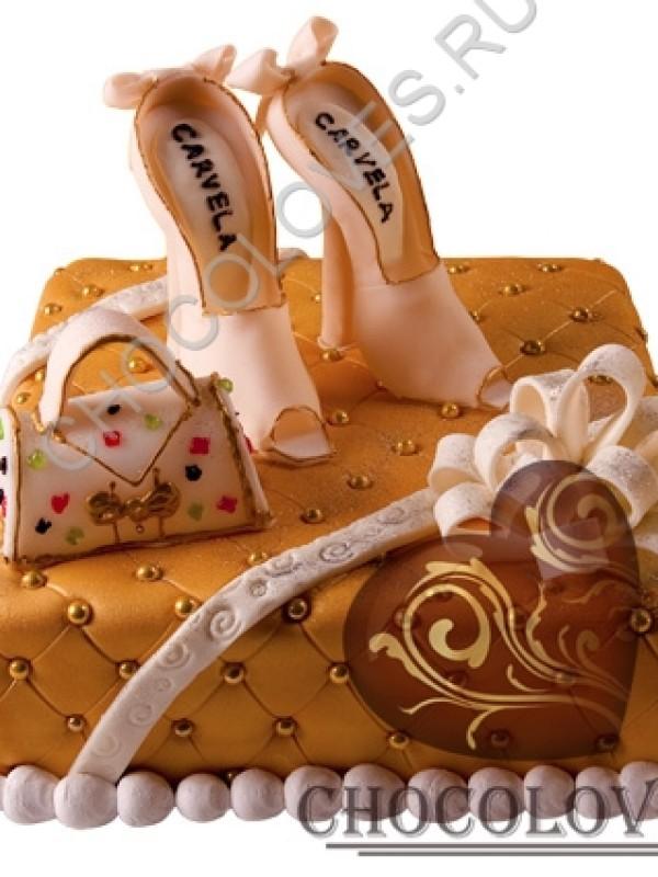"""Авторский торт """"Набор для любимой"""""""