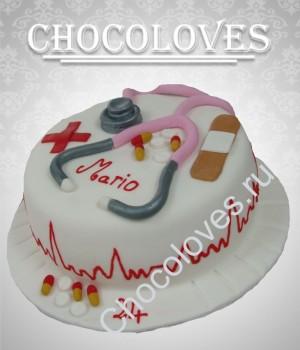 """Оригинальный торт """"Для медика"""""""