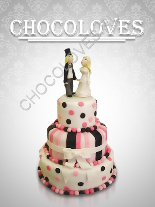 """Свадебный торт """"Мистер и Миссис"""""""