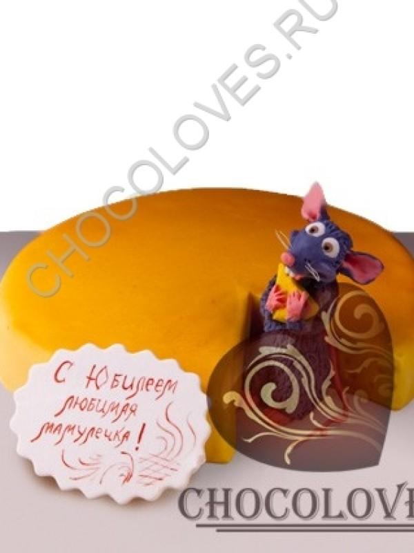 """Авторский торт """"Мышь"""""""