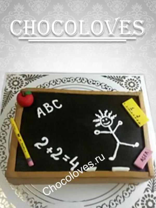 Торт детский выпускной