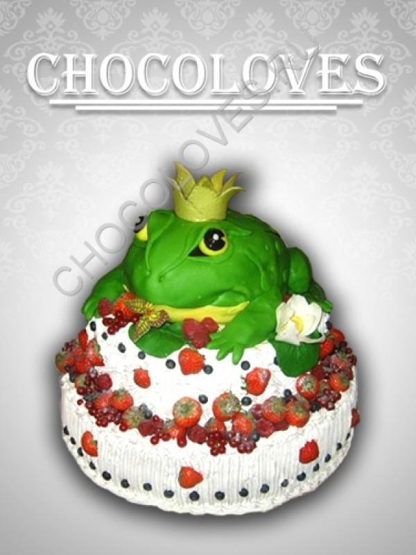 """Оригинальный торт """"Царевна лягушка"""""""