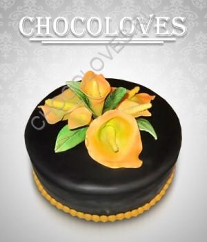 Женский торт с калами