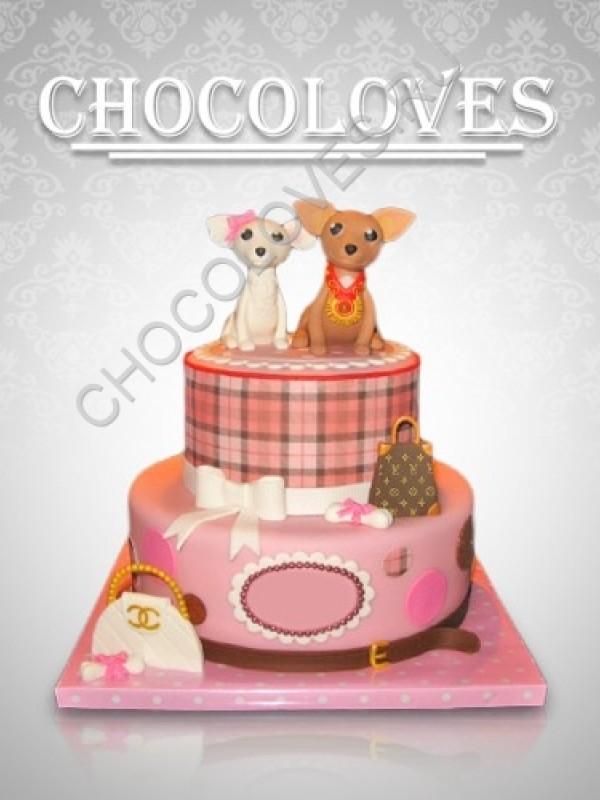 """Женский торт """"Для любимой мамы"""""""