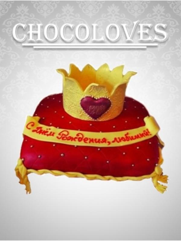 Детский торт любимому королю