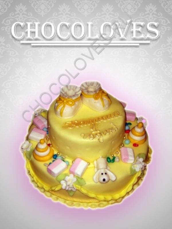 Детский торт к 1 году