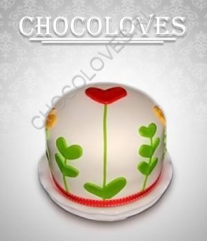 """Оригинальный торт """"Цветочек"""""""