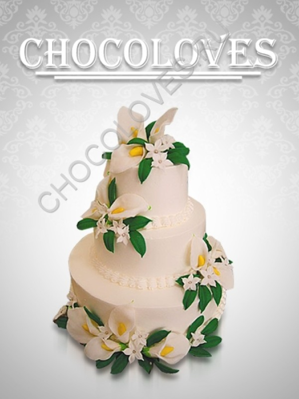 """Свадебный торт """"Изящество"""""""