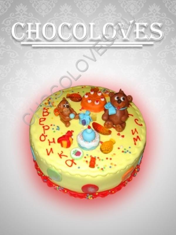 Детский торт для Вероники