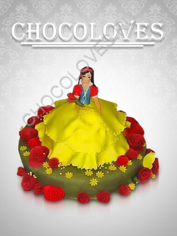 Детский торт принцеса