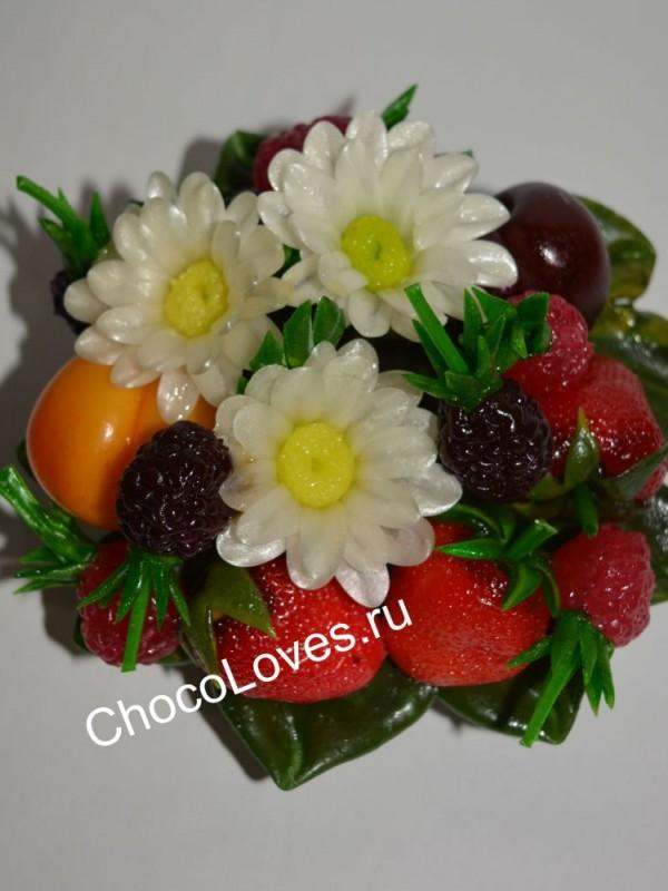 Карамельные цветы и ягоды