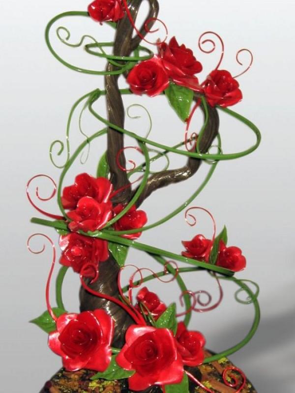 Розы Алые паруса