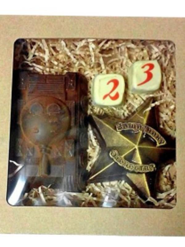 Шоколадный набор на 23 февраля