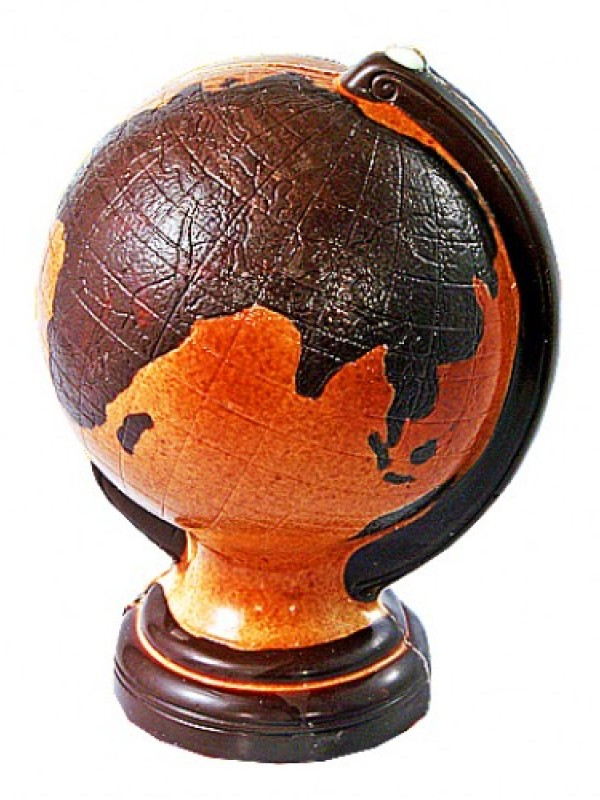 Шоколадный глобус