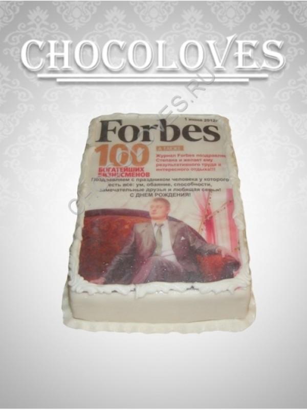 """Торт для мужчин """"Forbes"""""""