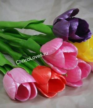 Карамельные тюльпаны