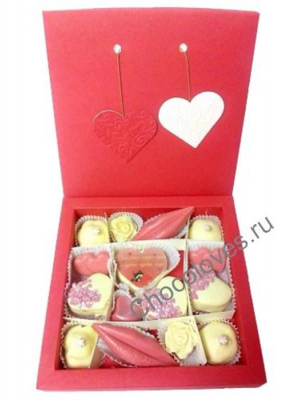 """Набор конфет """"От всего сердца"""""""