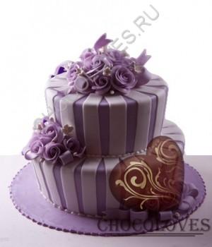 """Свадебный торт """"Начало"""""""