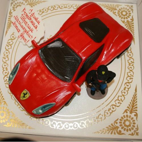 Торт для мужчин машина Ferrari