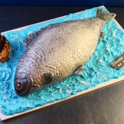 """Торт для мужчин """"Рыба"""""""