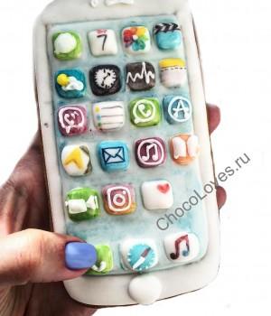 Имбирный пряник iPhone